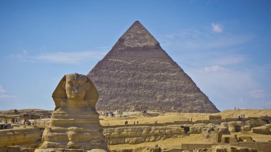 Отговор на мистерията за изграждането на пирамидите