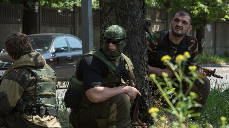 Проруски сепаратисти край летището в Донецк