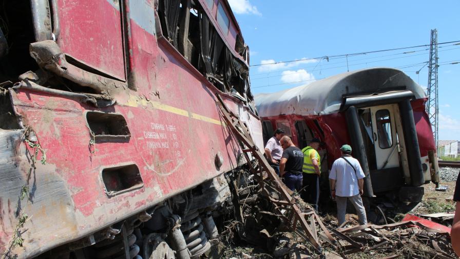 Иззеха важни доказателства по делото за влаковата катастрофа край Калояновец