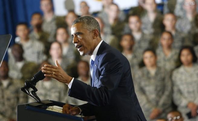 """Барак Обама: Няма да пращаме наши войски срещу """"Ислямска държава"""""""