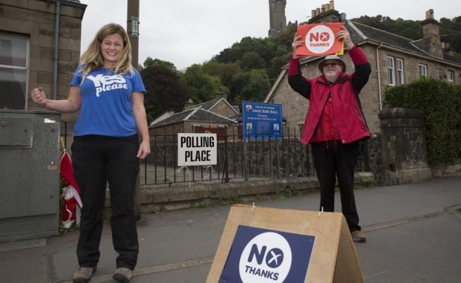 Без екзит полове на референдума в Шотландия