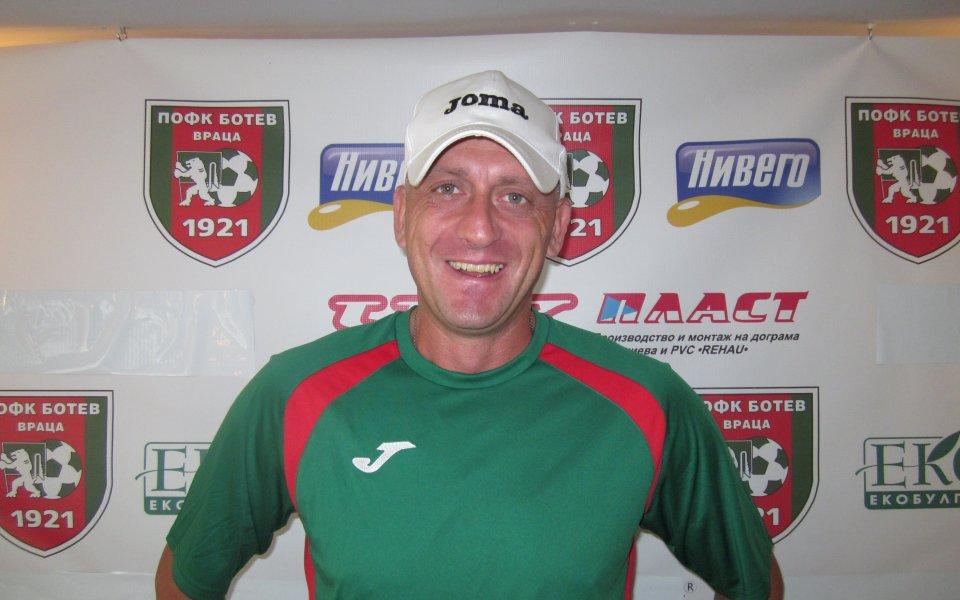 Викторио Павлов: Можем само да спечелим в мача с Лудогорец