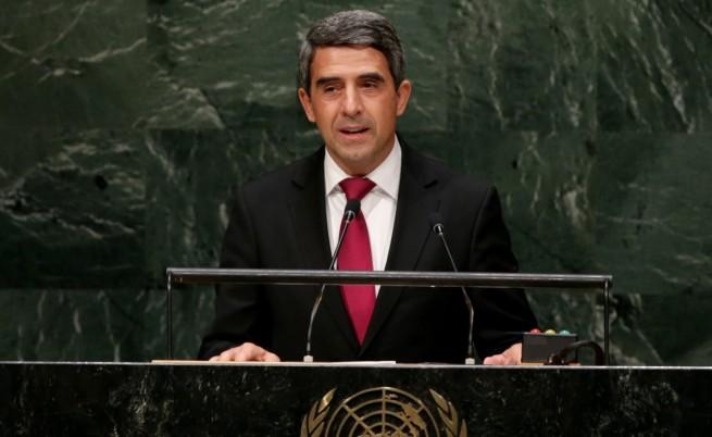 Плевнелиев пред ООН: Трябват действия, не приказки