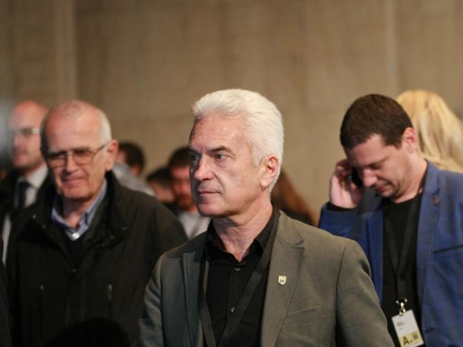Парламентарни избори 2014 Пресконференция на Атака