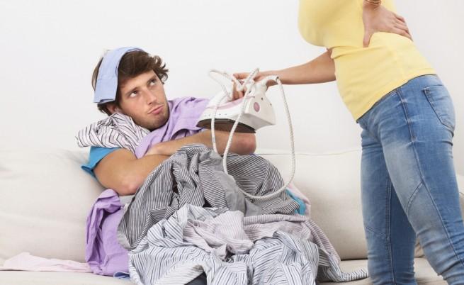 Мъжете не понасят повечето домакински задължения