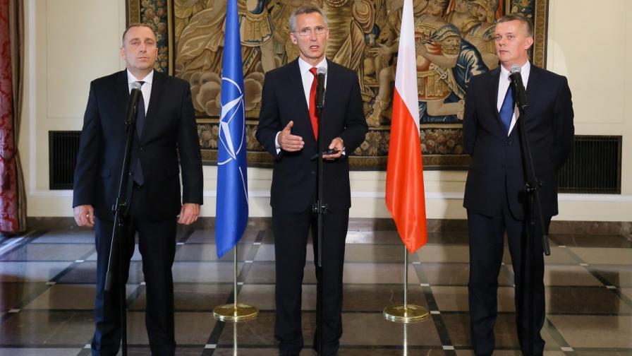Ако е необходимо, НАТО ще защити Турция от ИД