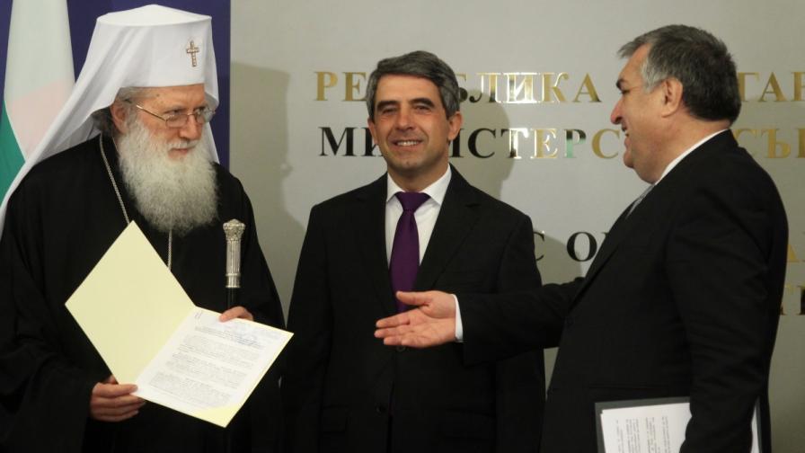 """Храмът """"Невски"""" вече официално е собственост на Българската православна църква"""