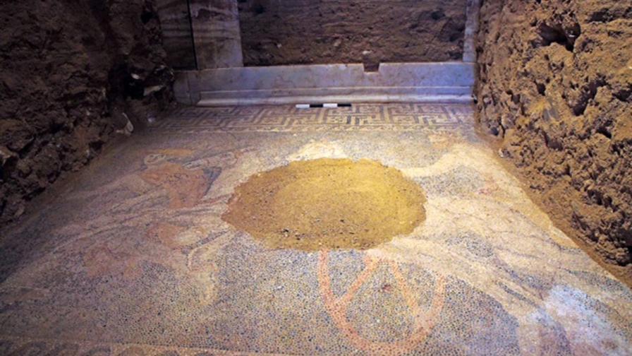 Мозайка в Амфиполис
