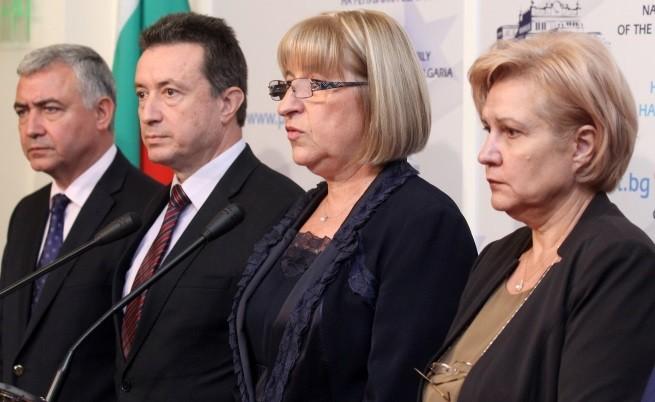 ГЕРБ и БСП: Съгласие по 4 точки след 4 часа преговори