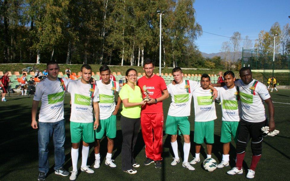 Отборът на надеждата направи първа тренировка в Чили