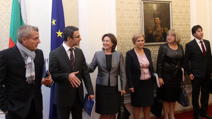 ГЕРБ и Реформаторския блок на поредна среща