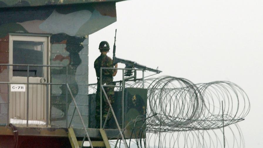 На междукорейската граница избухна престрелка