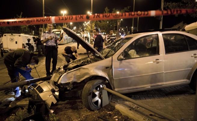 Катастрофа и стрелба доведоха до размирици в Източен Йерусалим