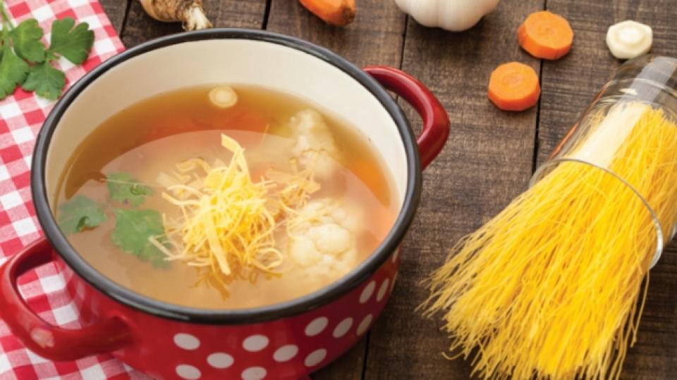 Пет рецепти за вкусна супа с паста
