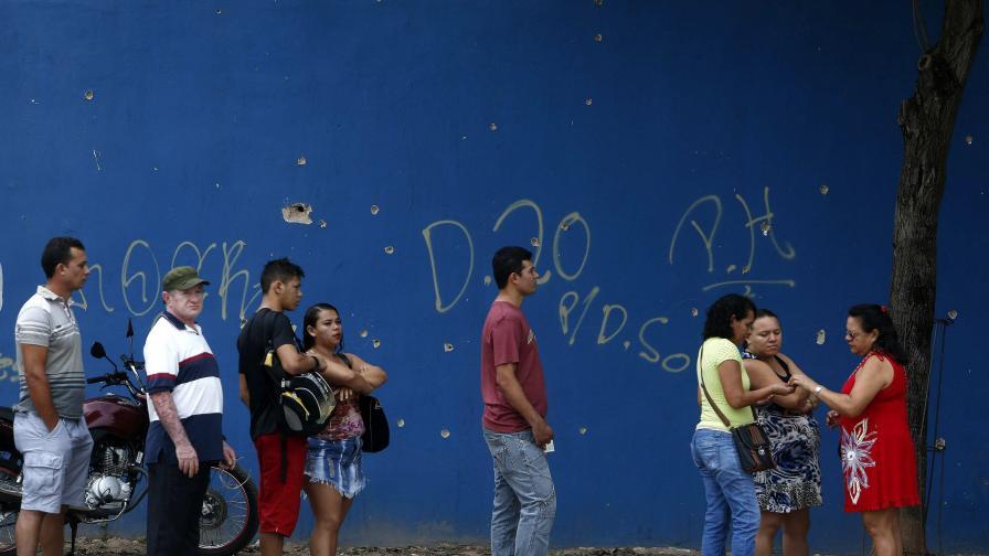 Бразилец на 20 г. бе убит пред изборна секция в Бразилия