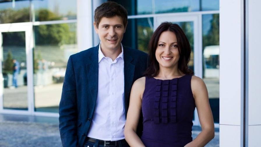 Ани Цолова и Виктор Николаев