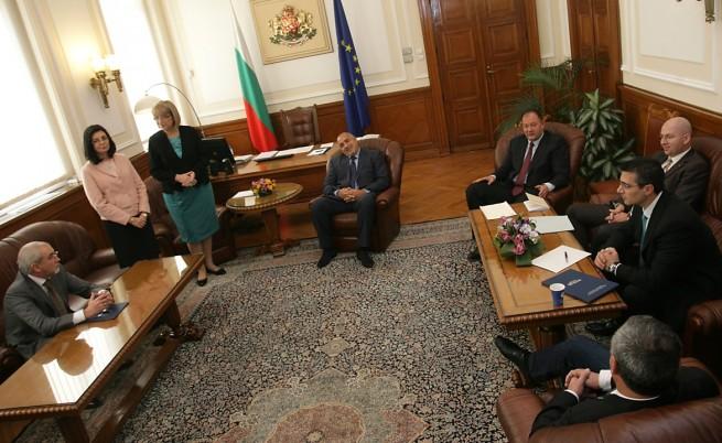 Борисов: Готвим коалиция на малцинството с РБ