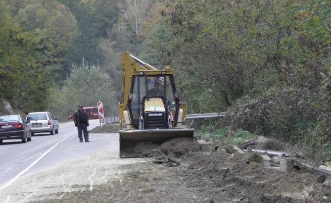 ремонт път Банско