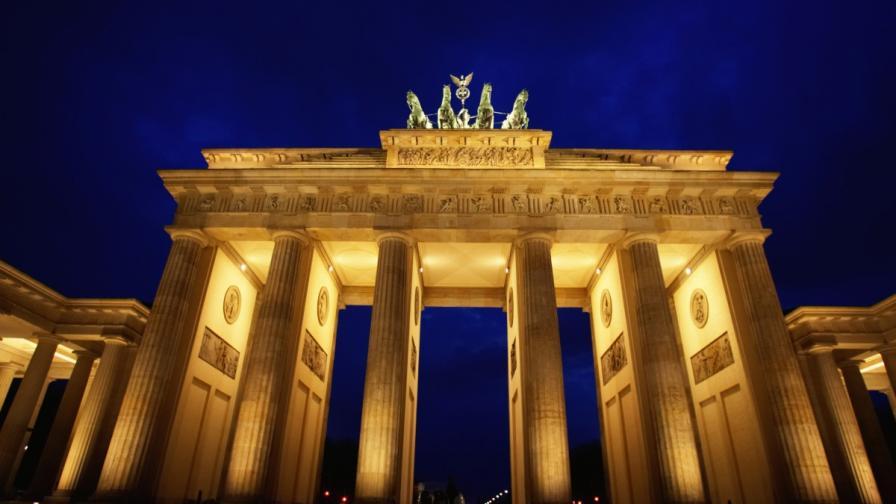 Бранденбургската врата в Берлин