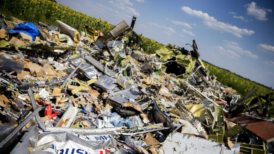 Година от катастрофата на МН-17 в Украйна
