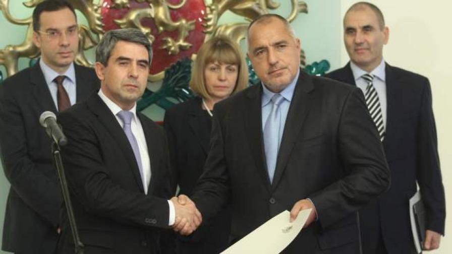 Вторият кабинет на Бойко Борисов започва с доверие от 26%