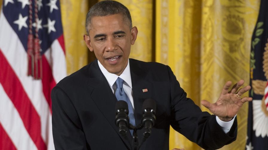 Обама: Поздравявам БГ за приемането на хиляди бежанци