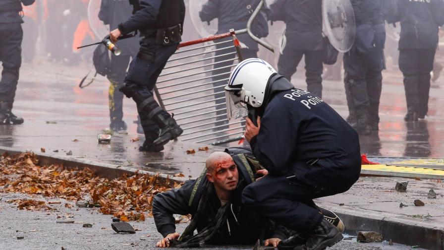 Белгия преживя най-тежките протести от 30 години