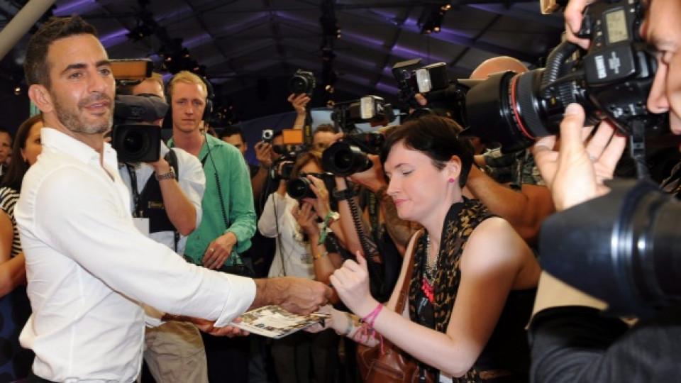 Марк Джейкъбс пристига на Седмицата на модата в Берлин, състояла се през юли 2011-та