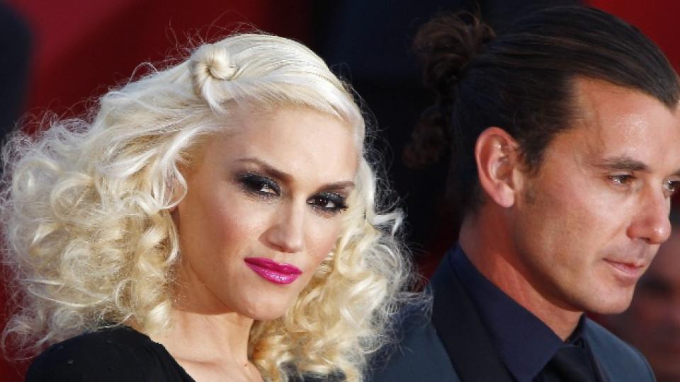 Гуен Стефани и нейният съпруг Гавин Росдейл по време на тазгодишния кинофестивал в Кан