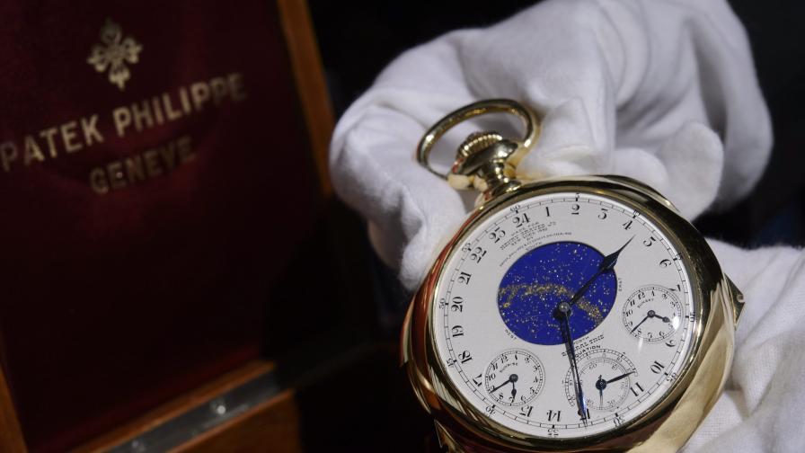 24 млн. долара за най-скъпия часовник, продаван на търг