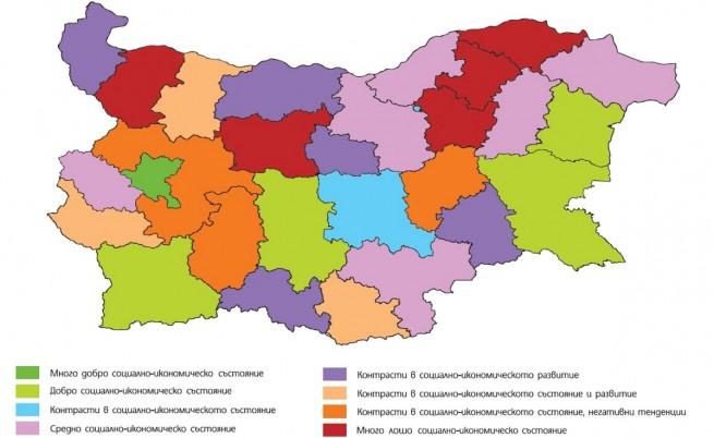 Разликите между София и останалите региони се задълбочават