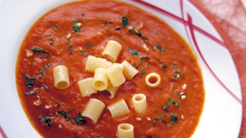 Постна доматена супа