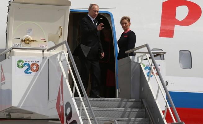 Путин си тръгна преди края от срещата на върха на Г-20