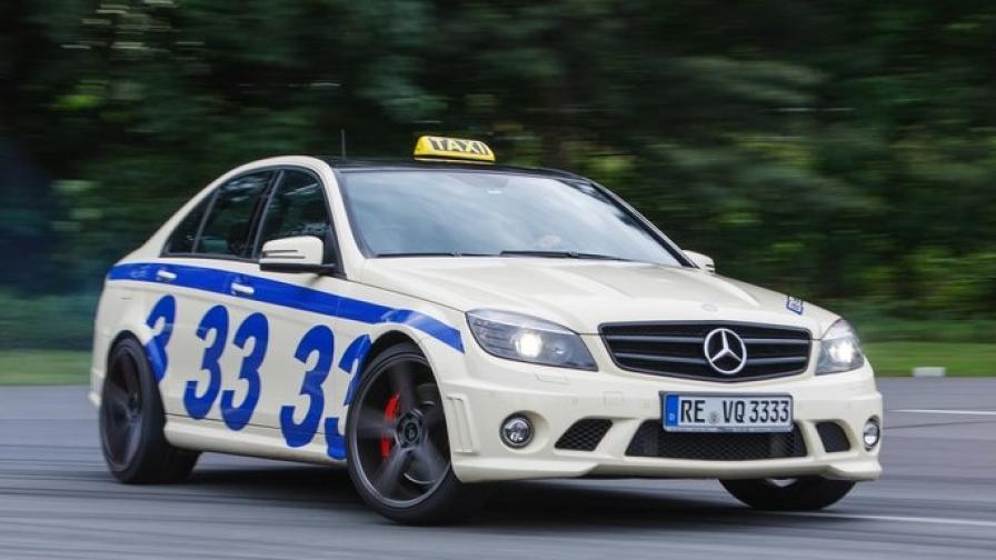 Германия: С над 300 км/ч в такси