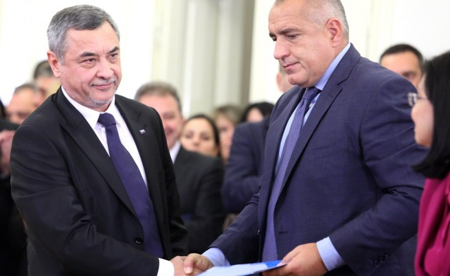 Борисов: Патриотите и ДПС да си мерят приказките