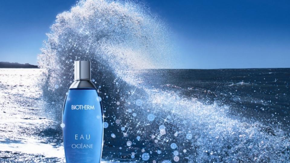 Силата на океана е събрана във възстановяващ аромат за тяло, наситен с отрицателни йони