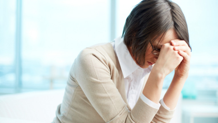 жена бизнес стрес депресия офис
