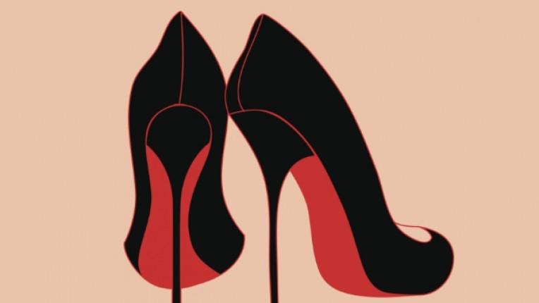 висок ток токчета обувки стил елегантност
