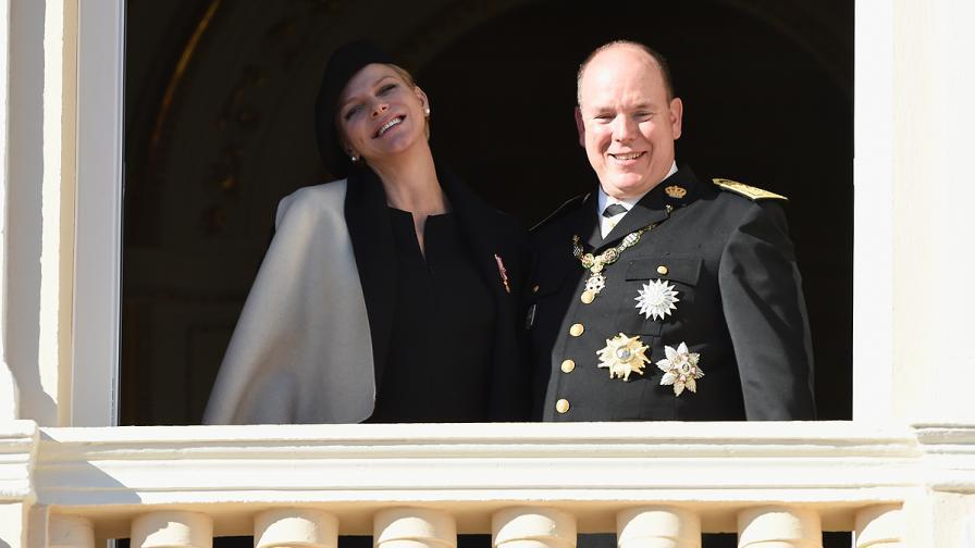 Принц Албер и принцеса Чарлийн