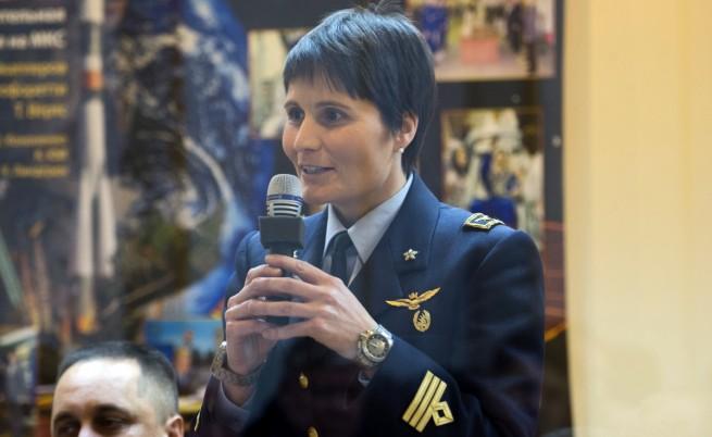 Италианска астронавтка занесе кафемашина в Космоса