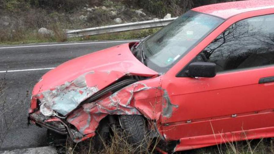 Един от пострадалите автомобили