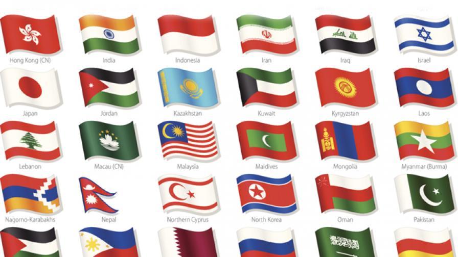 Религиозните символи в знамената на държавите по света