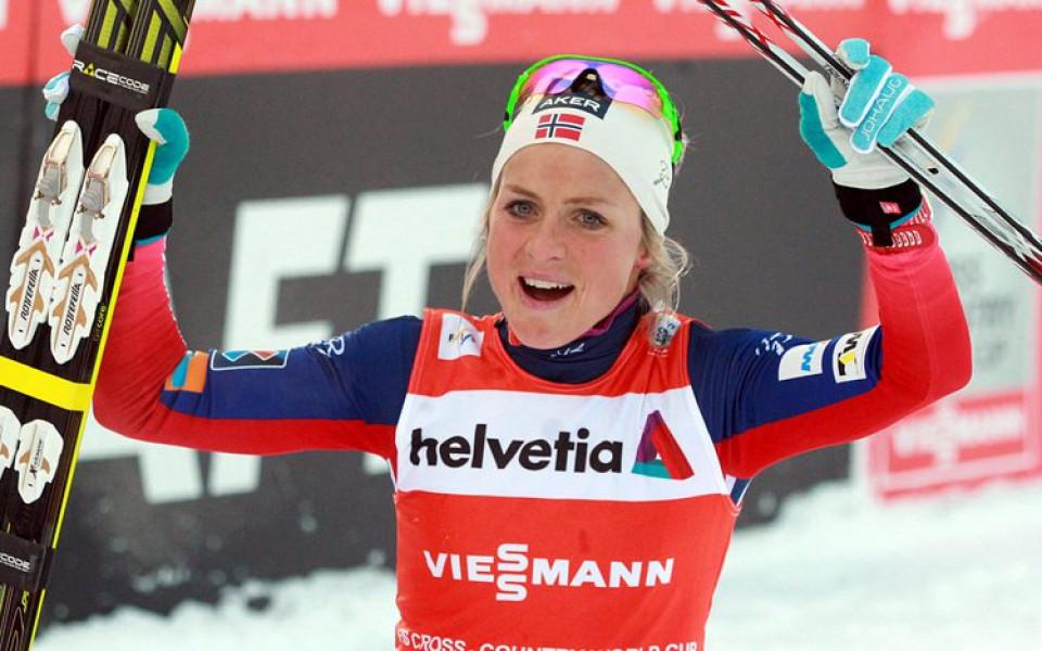 d1939bc4834 Норвегия с втори подиум на Световната купа по ски-бягане за жени в Лилехамер