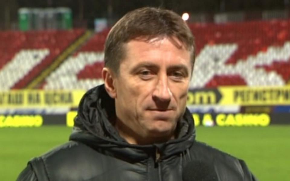 Нанков: Стоилов отвори вратите за българските треньори в Казахстан