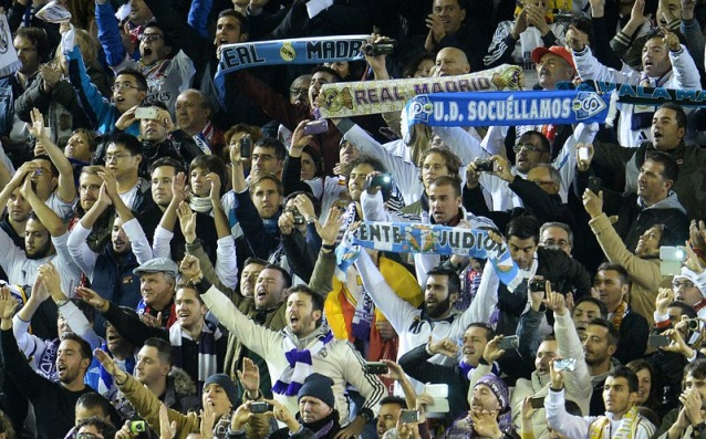 Фенове на Реал Мадрид<strong> източник: БГНЕС</strong>