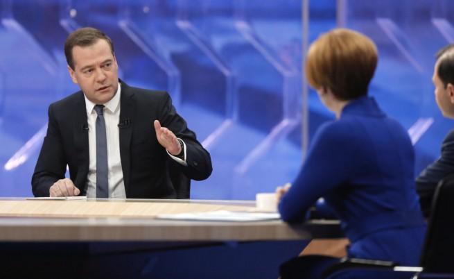 """Медведев: Разширяването на """"Син поток"""" е проект, отворен за други страни"""