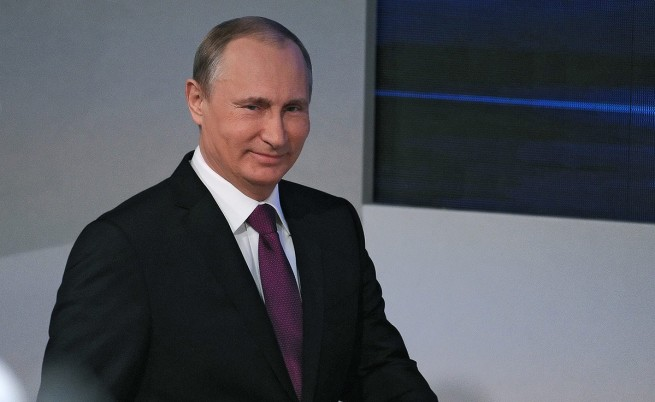 Путин: Влюбен съм