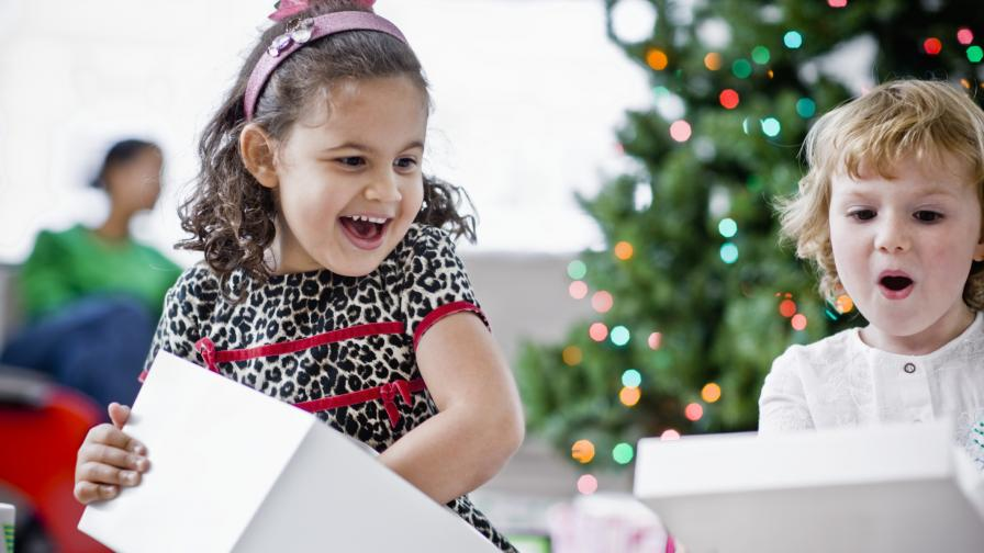 Многото подаръци са вредни за децата