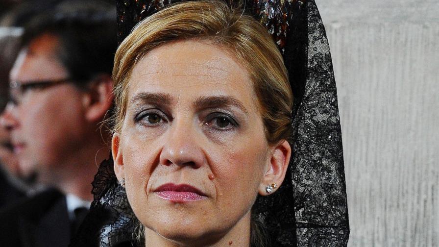 Испанската инфанта Кристина ще бъде съдена за данъчни измами
