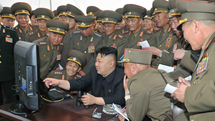 Колко интернет домейна има в Северна Корея